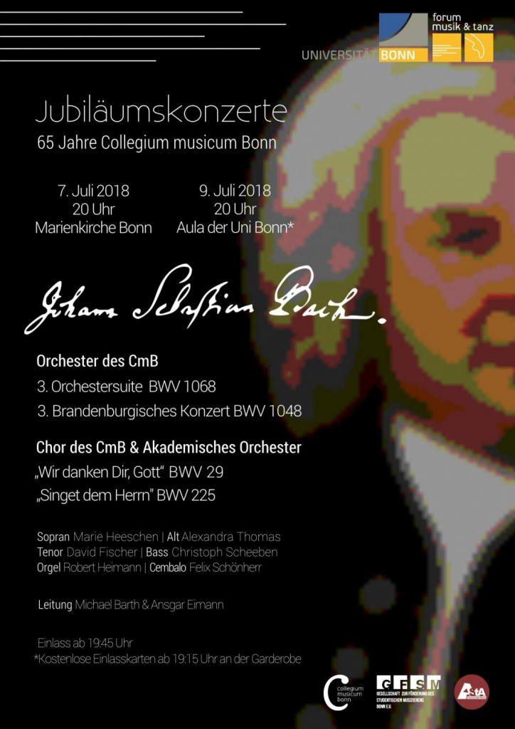 Jubiläumskonzert 65 Jahre CmB